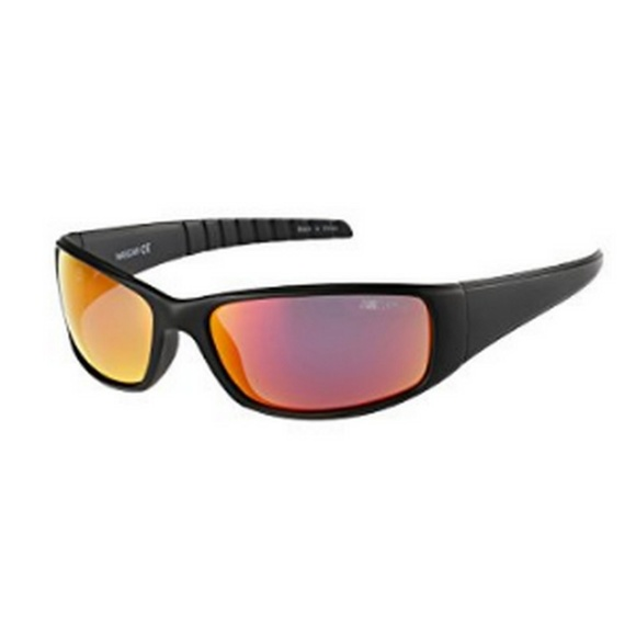 41366b6731 Nascar DRAFT-104P Mens Wrap Black Frame Polarized